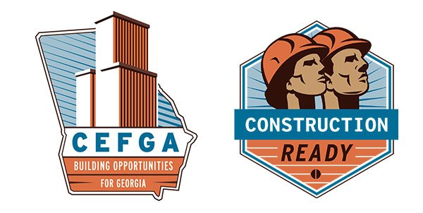 CEFGA and Construction ready logos